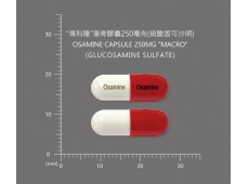 OSAMINE CAPSULES 250MG 復骨膠囊250毫克